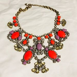 J. Crew Show-stopping Rhinestone Collar Necklace